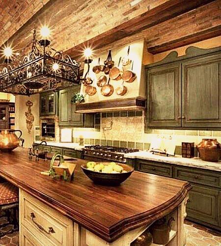 Gu a para dise ar cocinas italianas de calidad cocinas for Paredes decoradas rusticas