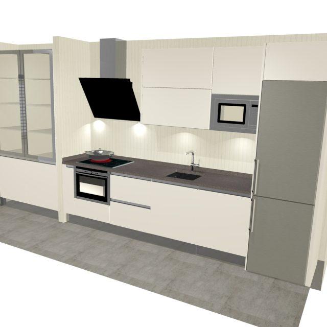cocina lineal 3