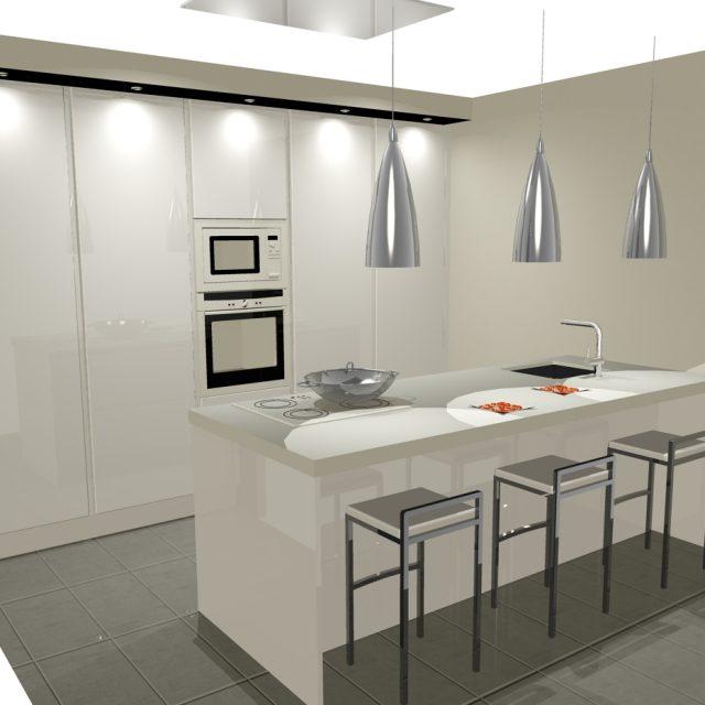 Dise os de cocinas con isla cocinas artnova sevilla for Cocinas sevilla