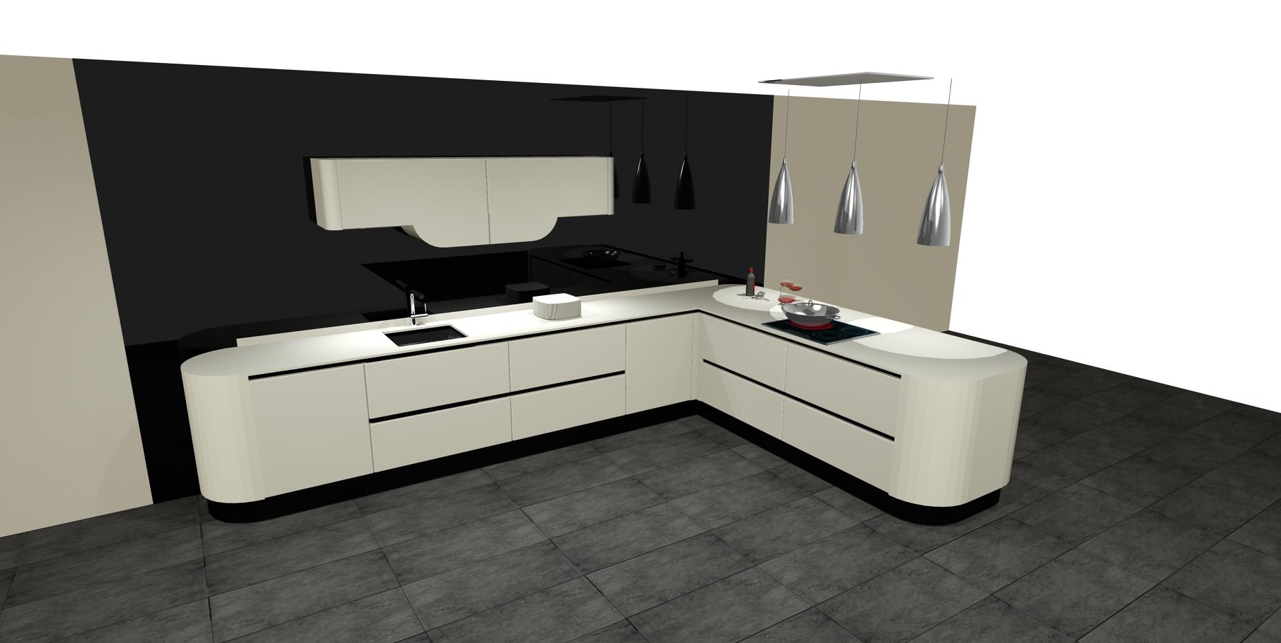 Dise os de cocinas con pen nsula cocinas artnova sevilla - Cocinas sevilla ...