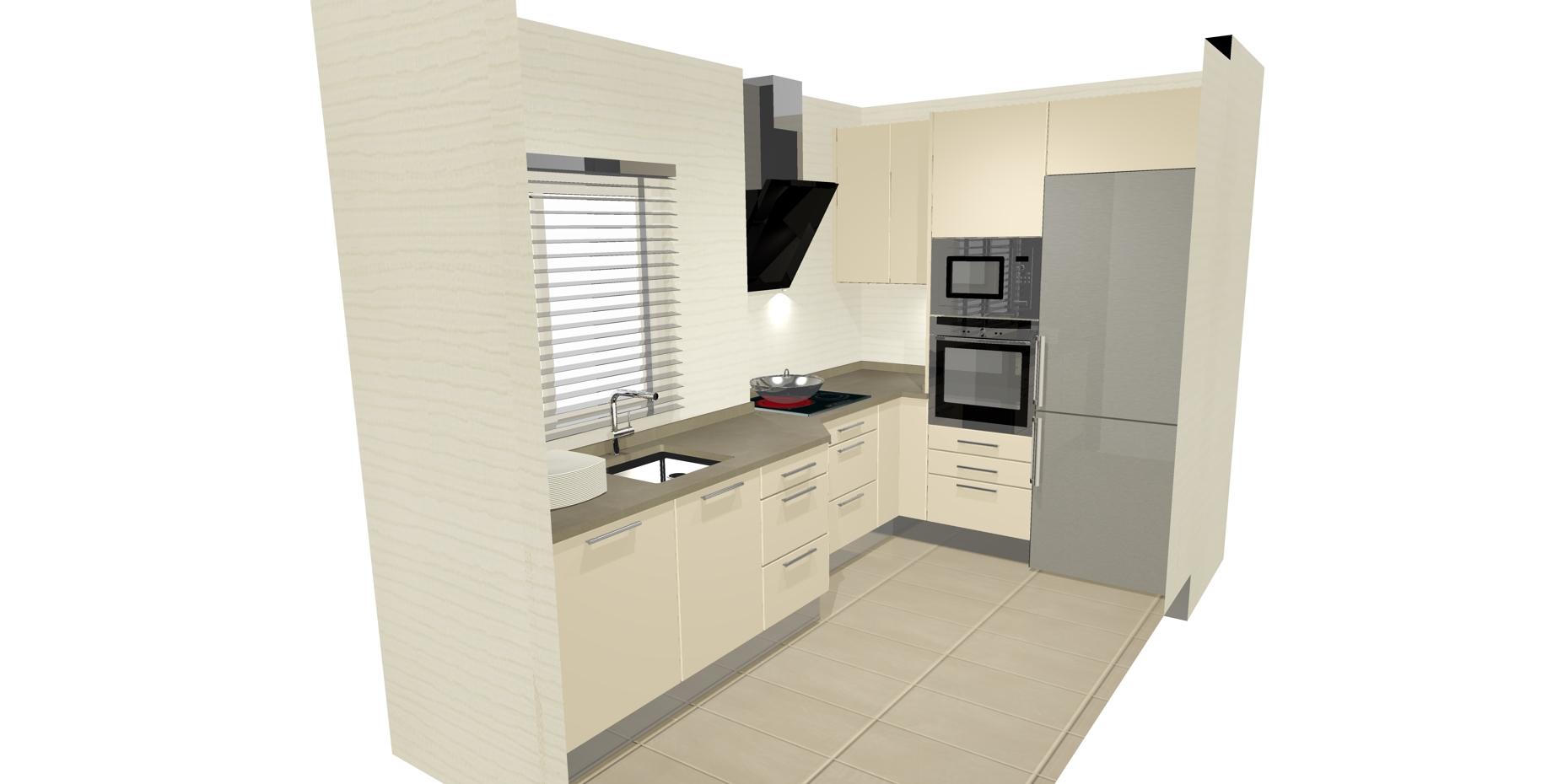 Dise os de cocinas en l cocinas artnova sevilla for Disenar plano cocina