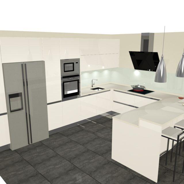 Dise os de cocinas con pen nsula cocinas artnova sevilla - Casas de cocinas en sevilla ...