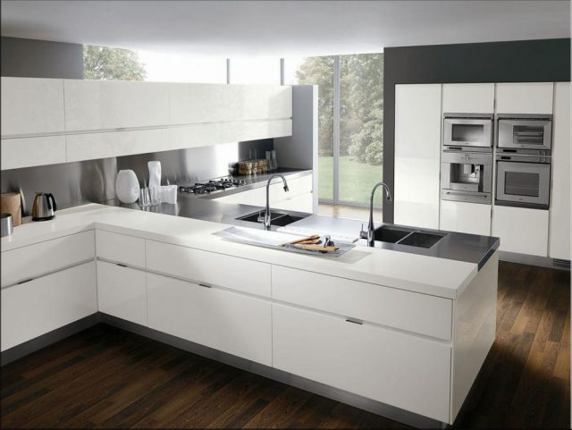 cocina berlín blanco brillo 1