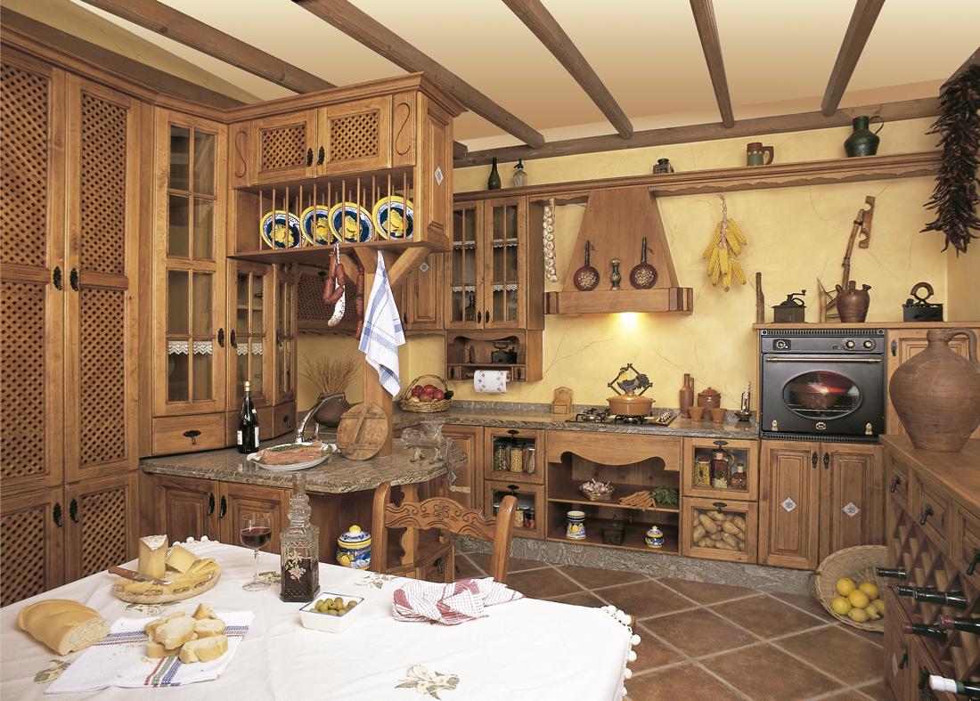 Cocinas r sticas principales caracter sticas cocinas for Casa de los azulejos por dentro
