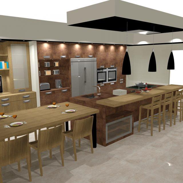 cocina con isla 9