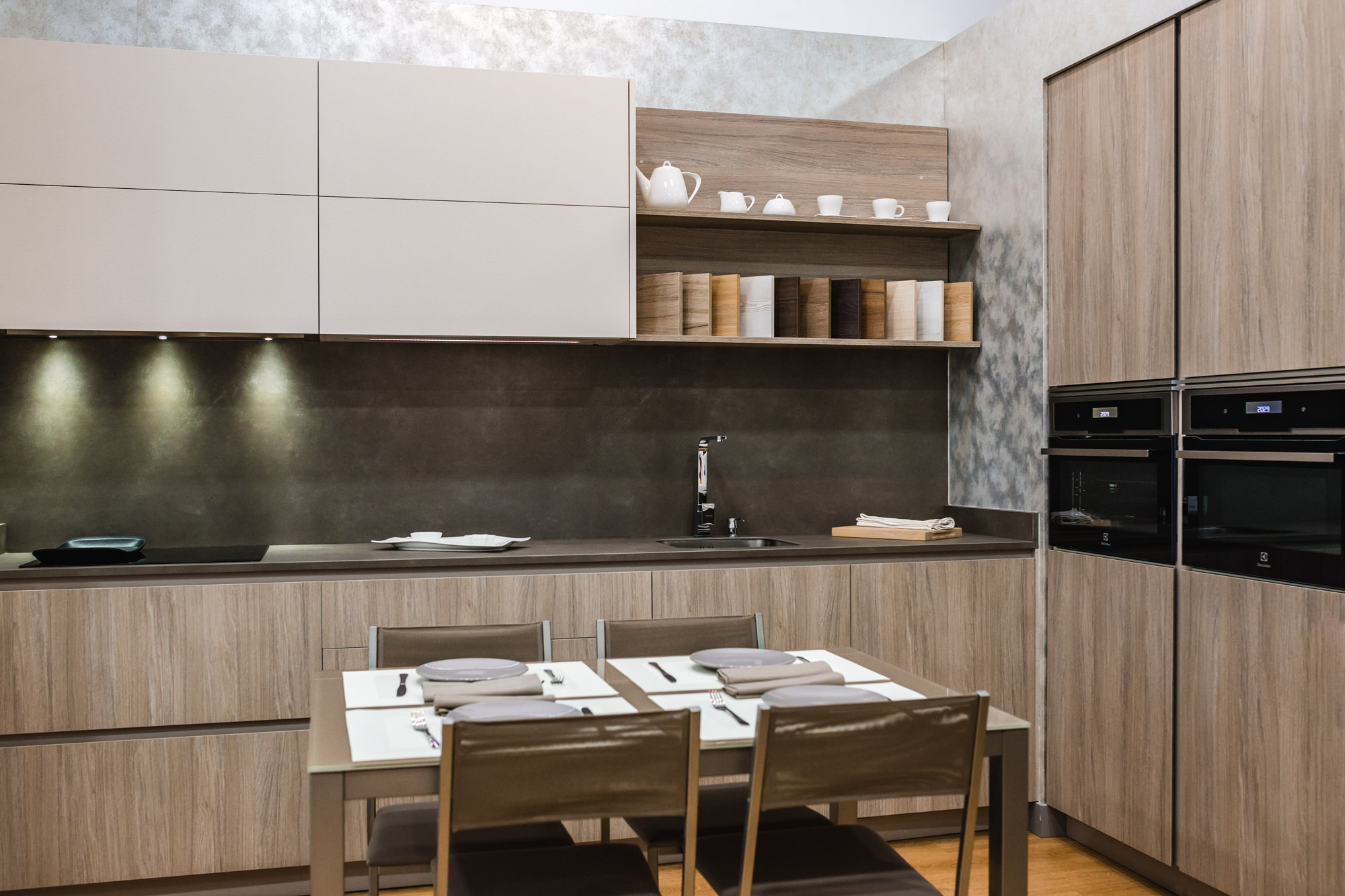 Exposici n cocina h bitat cocinas artnova - Relojes para cocinas modernas ...