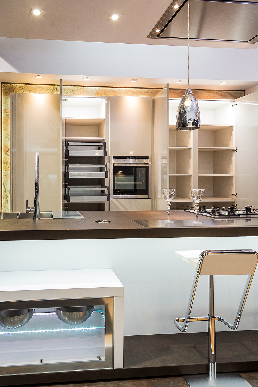 Exposici n cocina neox cobalto cocinas artnova for Cocinas exposicion