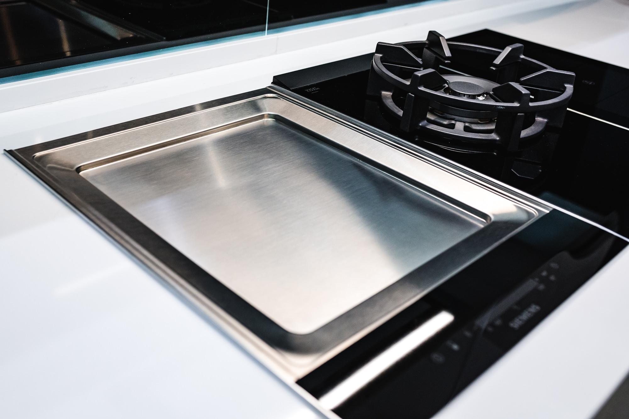 Electrodomésticos integrados para cocinas pequeñas